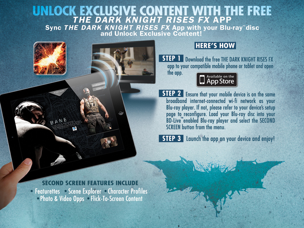 the dark knight rises fx app store