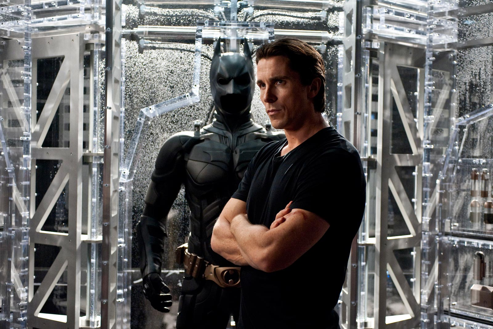 Christian Bale is Batman in The Dark Knight Rises. Photos courtesy of Warner Bros. Pictures, http://www.thedarkknightrises.com.